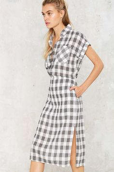 Walk in the Park Gingham Dress - Sale: Newly Added | Sale: 20% Off | Day | Dresses