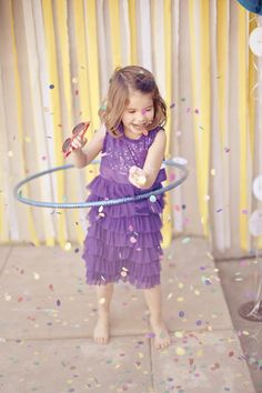 Hula Hoop party via Hostess with the Mostess