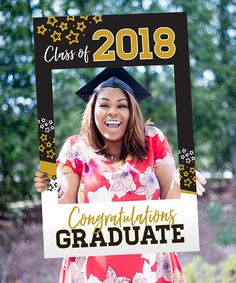 2018 Graduation Photo Prop Congratulations Graduation 5