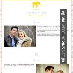 Wedding Websites About Us Examples Check Out More Great Website Pics At Weddingpins Net Weddings Wed Pinte