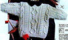 tricoter un debardeur pour garcon