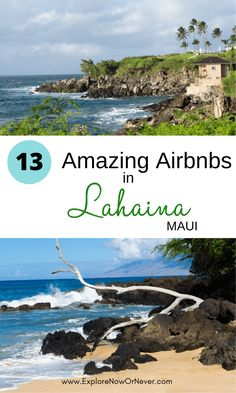 Airbnb Lahaina, Maui for 2021—13 Fabulous Vacation Rentals, Condos & Bungalows Lahaina Shores, Lahaina Maui, Airbnb Rentals, Vacation Rentals, West Maui, Unique Hotels, Beach Condo, Lanai, Bungalows