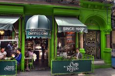 Caffe Reggio in Greenwich Village, New York City | Flickr - Photo Sharing!