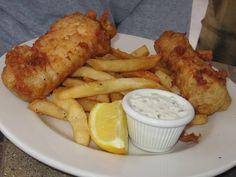 The Manchester Arms - College Park, GA, United States. Fish and Chips