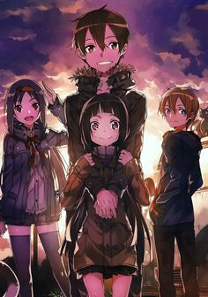 Sword Art Online || by abec