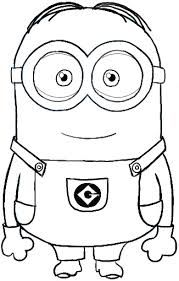 Pencil Drawing Tutorials How to Draw Dave . one of the Minions from Despicable Me Drawing Tutorial Minion Coloring Pages, Colouring Pages, Printable Coloring Pages, Coloring Pages For Kids, Coloring Books, Frozen Coloring Sheets, Minion Sketch, Minion Drawing, Minion Art