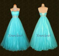 Elegant floor-length beading prom dress / evening dresses from Your Closet #coniefox #2016prom