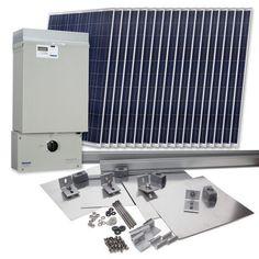 Grape Solar GS-4140-KIT Residential 4,140 Watt Grid-Tied Solar Power System Kit $13,499.00