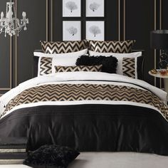 Dante Gold Quilt Cover Set or Accessories by Ultima
