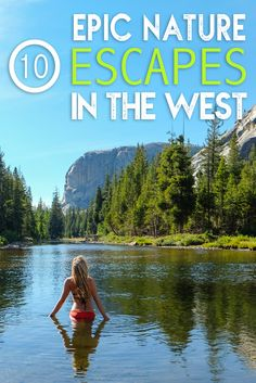 Ready for an adventure in the Wild West? From the deepest caves of New Mexico to the highest peaks of Yellowstone, this region is primed for exploration. When you are bored with city breaks and lazy beach getaways, it's time to the check out these West Coast hot spots. Here are my favorite epic nature escapes in the West!