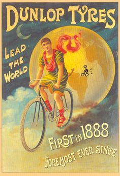 Dunlop Tyres Lead The World http://www.josiedew.com/cycling/d-is-for