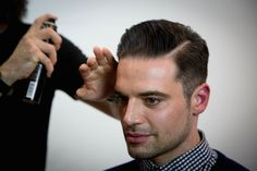 How to Cut a Pompadour Haircut Tutorial- Video on cutting and styling a Quiff/Pompadour Hairstyle