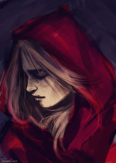 Rrh doodle by *fdasuarez on deviantART. I really like this style of art and this piece uses quite dark colours.