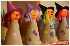 Halloween Party Games, Halloween Crafts For Kids, Diy Halloween Decorations, Halloween Kids, Autumn Crafts, Holiday Crafts, October Crafts, Coron, Ideas