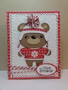 Teddy Bear Parade Cartridge Cricut Cartridge - Christmas Card