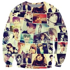 Womens Character Justin Bieber 3D Print Pullover Sweatshirt Gray ($23) ❤ liked on Polyvore featuring tops, hoodies, sweatshirts, grey, gray sweatshirt, gray top, grey pullover sweatshirt, pattern tops and grey top