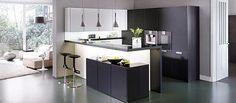 CLASSIC-FS | IOS-M › Lacquer › Modern style › Kitchen › Kitchen | LEICHT – Modern kitchen design for contemporary living