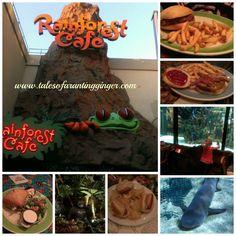 Rain forest cafe Niagara falls