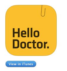 Hello Doctor - Medical info manager for patients and caregivers (keeping track of all medical records & information - Lab results, X-ray, CT, MRI, Drugs, Prescription, ECG, Blood test, MD, IV fluids, in one single free app)  By Hello Doctor Ltd., and downloaded from iTunes