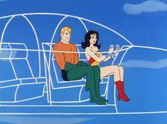 Invisible Jet / Wonder Woman & Aquaman