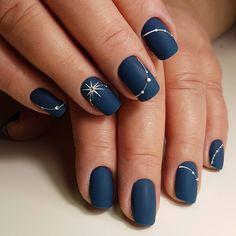 New Years Nail Art Designs // Manicure . - New Years Nail Art Designs // New Year Manicure - New Year's Nails, Fun Nails, Hair And Nails, Nail Polish, Nail Manicure, Manicure Ideas, Manicures, Winter Nail Art, Winter Nails