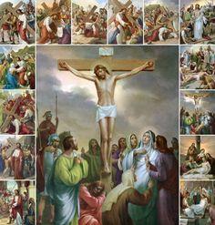 Queridos irmãos, no próximo sábado faremos uma Via Sacra com as crianças da catequese. Preparei esta Via Sacra à partir do livro da Campanh...