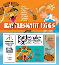 RATTLESNAKE EGGS..... Startle your friends as they open the envelope and hear a Rattlesnake. A classic prank that scares them every time and the envelope looks like it contains the real deal. Great fun and easy to setup! www.theonestopfunshop.com