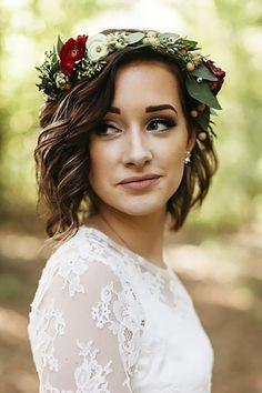 Wedding Hairstyles For Every Hair Length ❤ See more: http://www.weddingforward.com/wedding-hairstyles-every-hair-length/ #weddings #weddinghairstyles #weddingcrowns