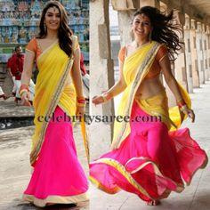 Hansika Latest Half Saree | Saree Blouse Patterns