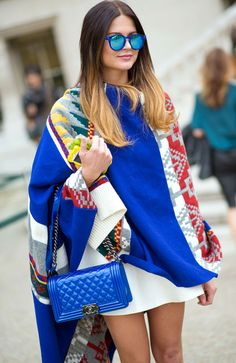30 of the boldest ways to sport extreme colors this season.