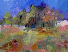 "Daily+Paintworks+-+""Landscape+No.+15""+-+Original+Fine+Art+for+Sale+-+©+Delilah+Smith"