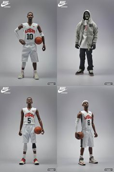 "d097a28b3acb ""Relive The Dream"" Nike Sportswear Figures of LeBron James"