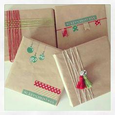 Christmas wrapping {love}