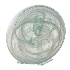 Abigails Round Alabaster Glass Plate -- Learn more by visiting the image link.