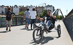 Article Citycle : Faire du vélo avec un handicap - L'EZT parmi les solutions Tricycle, Alice, Motorcycle, Vehicles, Sports, Veil, Ride A Bike, Excercise, Automobile