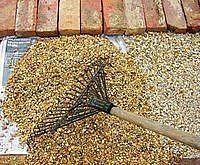 Pea Gravel Patio - How To Patio Wall, Cement Patio, Gravel Patio, Wood Patio, Patio Privacy, Fireplace Modern, Wall Wood, Patio Design, Driveways