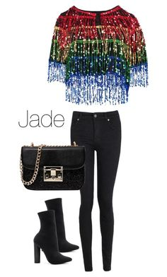"""""""Jade Thirlwall"""" by littlemixfashioninspired on Polyvore featuring Boohoo and Steve Madden"""