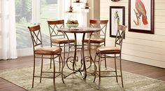 Find Dining Room Sets that will look great in your home and complement the rest of your furniture.#iSofa #roomstogo