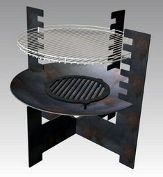 Rim Fire Pit, Fire Pit Bbq, Metal Fire Pit, Fire Pit Patio, Camping Grill, Bbq Grill, Parrilla Exterior, Bbq Pit Smoker, Fire Pit Essentials