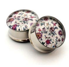 Vintage floral gauges