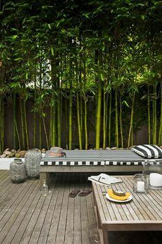 terrasse mit balbus dekoriert - schöne moderne möbel
