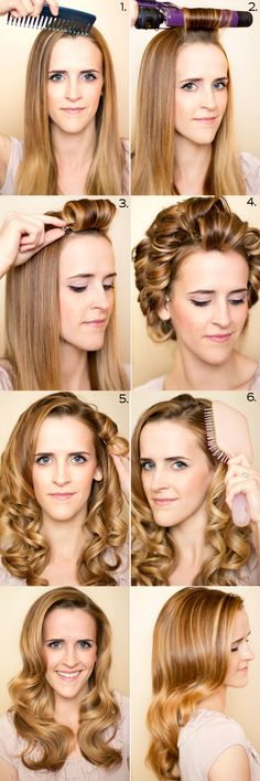 How to: Retro Curls