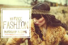Fashion Photoshop Free Actions - Symufa