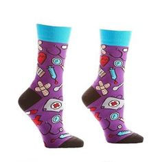 Possec Ladys Cotton Streak Socks with Box Pack of 5