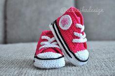Crochet de baskets bébé