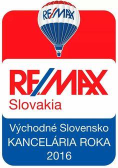 Opätovne sa nám podarilo obhájiť titul kancelária roka 2016 pre región východné Slovensko. V celkovom rebríčku za rok 2016 sme sa zo všetkých kancelárií umiestnili na 2. mieste :-)  Chceme sa srdečne poďakovať a zároveň k tomuto úspechu zablahoželať aj naším skvelým kolegom :-)  Taktiež ďakujeme aj našim klientom za prejavenú dôveru.  Viac sa o nás dozviete na >> www.re-max.sk/benard