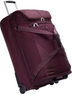 """eBags eTech 2.0 Mother Lode 29"""" Wheeled Duffel Plum #ebags #travel #luggage #travel #accessories #inspiration #travelaccessories"""