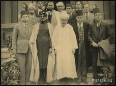 1947 - Abdelkrim and some Maghreb Bureau edited