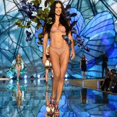 No surprises here: Alessandra Ambrosio, Adriana Lima, and Lais Ribeiro killed it at the 2015 Victoria's Secret Fashion show. The Brazilian beauties strutted down the runway in skimpy lingerie in typical VS fashion, but don't just take our word about their hotness — take a look for yourself.