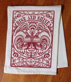 Rise & Shine Tea Towel